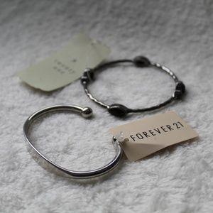 Pair of NWT Metal Bracelets